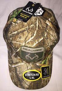 RealTree Edge Stretch Scent Control Camouflage L-XL Cap NWT