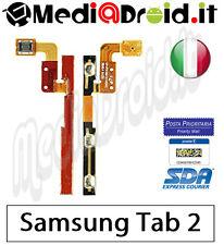 SAMSUNG GALAXY TAB 2 7.0 P3100 TASTO ACCENSIONE ON OFF POWER VOLUME LATERALE FLA
