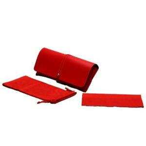 PU Leather Glasses Case Cover with Rope Buckle Storage Box Sunglasses Case Pouch