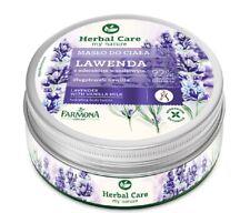 Lavender Hydrating Body Butter with Vanilla Milk Farmona Herbal Care 200 ml