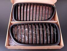 FAST EMS 2x MATTE BLACK GRILLS for BMW 5 Series F10 F11 11-17 M5 PERFORMANCE