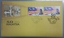 Special 50 Years Malaysia 2013 Kuala Lumpur Putrajaya First Day Cover FDC