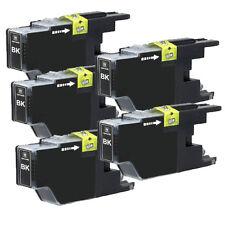 5 PK BLACK Ink Tank for LC75 Brother Printer MFC-J825DW MFC-J835DW MFC-J435W