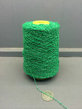 200G BRIGHT GREEN COLOUR 5.5NM 81% CASHMERE SMALL BOUCLE YARN SHERWOOD