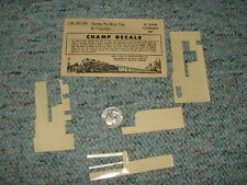 Champ decals O Gauge OB-18-139 Santa Fe Box Car El Capitan C12