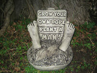 Grow your own dope stone garden ornament <<VISIT MY SHOP>>