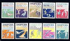 ALBANIA - 1964 - Tokio 1964. Giochi olimpici estivi (5)