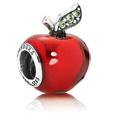 Nuevo Genuino 925 Plata Pandora Disney Blancanieves's encanto de Apple