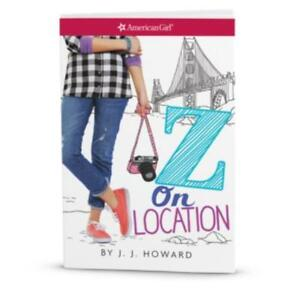 American Girl Girl Z On Location Book - Genuine - See Description