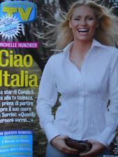 TV Sorrisi e Canzoni n°13 2005 Michelle Hunziker Cristiana Capotondi D'Ales[D19]