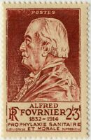 FRANCE Timbre / Stamp n° 748 Fournier Neuf** 1946