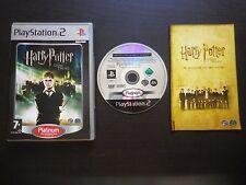 HARRY POTTER ET L'ORDRE DU PHENIX : JEU Sony PLAYSTATION 2 PS2 (Platinum, suivi)