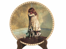 """Royal Doulton Collector Plate In Disgrace Bone China Charles Burton Barber 8.5"""""""