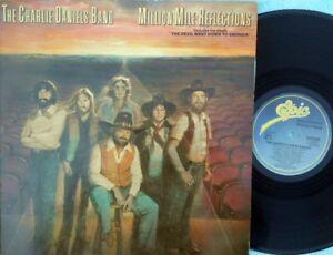Charlie Daniels Band ORIG UK LP Million mile reflections EX '79 Southern rock