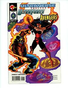 Ultraverse Prelude Ultraforce Avengers #1, NM+, 1995