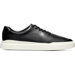 Men Cole Haan GrandPRO Rally Laser Cut Leather Casual Sneakers NEW