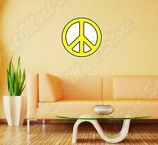 "Peace Sign Hippie Love Wall Sticker Room Interior Decor 22""X22"""