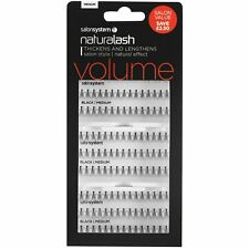 Salon System Naturalash Individual VALUE Pack False Lashes - Black - Medium