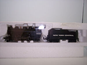 HO  2-6-2   STEAM LOCO & TENDER NEW YORK CENTRAL WITH SMOKE   BACHMANN  #51520