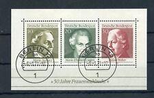 BUND Bl.5F gestpl. BERLIN 6.1.1971 - BLOCK FEHLENDES ZAHNLOCH !!! (131224)
