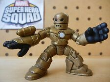 Marvel Super Hero Squad IRON MAN First Appearance Bronze Armor (Movie Version)