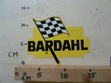 STICKER,DECAL BARDAHL LOGO FINISH FLAG  OIL ? A