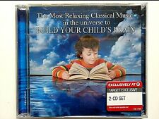 The Most Relaxing Music in the Universe to Build Your Child's Brain, 2 CD, New