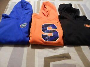 Lot of 3 Nike Hoodie L/S boys Medium Sweatshirt 10/12