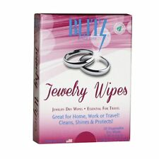 Blitz Jewelry Wipes - 30 Disposable Dry Wipes