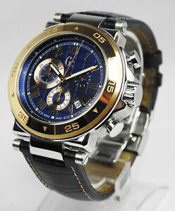 GC Mens Watch Chronograph Sport Class Collection gc x90005g2s 44mm