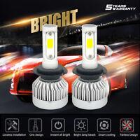 CREE H7 195000LM 1300W Fanless LED Headlight Kit High or Low Beam Bulb 6000K Car