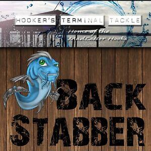 HTT BackStabber OCTOPUS CIRCLE HOOKS BLACK NICKEL Catfish/Striper Fishing