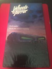 Wheels of Terror 1990 Horror (VHS) Paramount Pictures - Joanna Cassidy Brand New