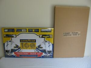 Model Power HO Scale Goodyear 100 Year Anniversary Limited Edition Train Set NOS