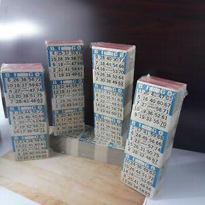 BINGO PAPER 3 x 14 UP   -  250 books -  10,500 faces