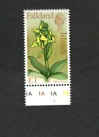 Falkland Islands SC #179 YELLOW ORCHID  MNH stamp