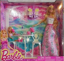 """MATTEL BARBIE PRINCIPESSA """"Barbie e Shelly ora del te"""" NUOVO SHELLY CON ACCESSOR"""