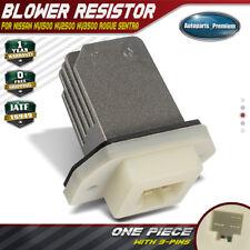 A/C Heater Blower Motor Resistor for Nissan Rogue Sentra NV1500 NV2500 NV3500