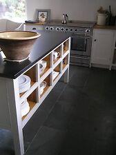 Handmade all wood  Kitchen unit Bespoke Base/Island Unit With Oak Veneer Shelves