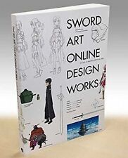 Sword Art Online Design Works Illustration Art Book Anime Manga SAO Japan F/S