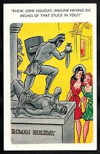 C1960s Comic/ Cartoon - Two ladies Roman Holiday '6 inches stuck in you'