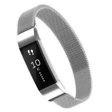 Für Fitbit Alta /Fitbit Alta HR, Simpeak Edelstahl Metallband Magnetic Milanese