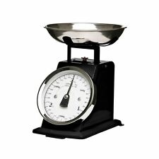 Premier Housewares Kitchen Scale Matt Black/Stainless Steel 3kg Weigh