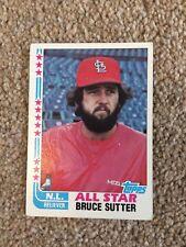 +++ BRUCE SUTTER 1982 TOPPS BASEBALL CARD #347 - ST LOUIS CARDINALS +++