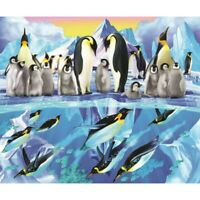 5D Full Drill Diamond Painting Embroidery Penguins Cross Stitch Kits Arts Mural