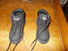 Toddler 8M Craftsman Boots Black Real Nice