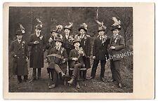 ZIEHHARMONIKA WANDERVOGEL Men WANDERER CONCERTINA * Foto-AK um 1920
