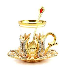 Tea Cup,Turkish Tea Cup,Decorative Tea Cup,Tea Cup and Saucer,Tea Glass