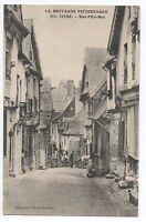 CPA 35 - VITRE (Ille et Vilaine) - 2605. Rue d'En-Bas