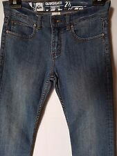 """WOMEN'S JEANS QUIKSILVER STRAIGHT STRETCH SIZE 10/28"""" LEG 28.5"""" FREE POSTAGE"""